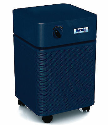 Austin Air Systems - HealthMate Junior Plus Air Purifier - MIDNIGHT BLUE - 220 VOLT / INTL UNIT