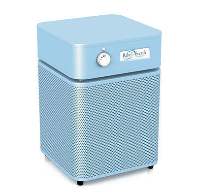 Austin Air Systems - BABY'S BREATH - Allergy / HEGA Unit - BABY BLUE - 220 VOLT / INTL. UNIT
