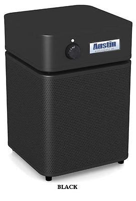 Austin Air Systems - HealthMate Junior Plus Air Purifier - BLACK - 220 VOLT / INTL UNIT