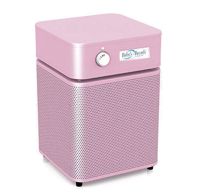 Austin Air Systems - BABY'S BREATH - Allergy / HEGA Unit - PINK - 220 VOLT / INTL. UNIT