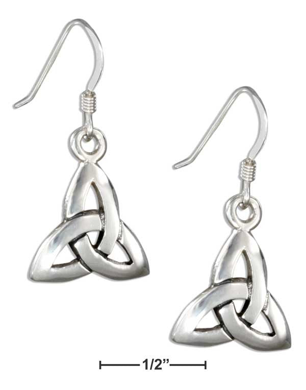 Sterling Silver Celtic Trinity Knot Earrings