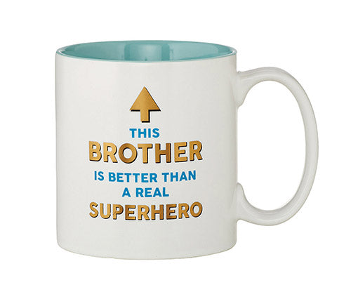 Superhero Brother Mug 15 oz