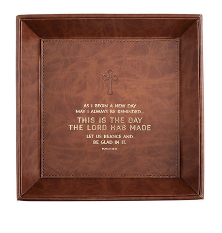 Just For Him - This Is The Day Psalms 118:24 - Valet Tray