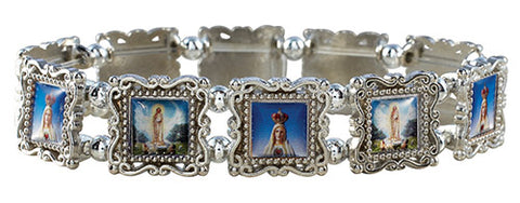 Our Lady Of Fatima Panel Bracelet