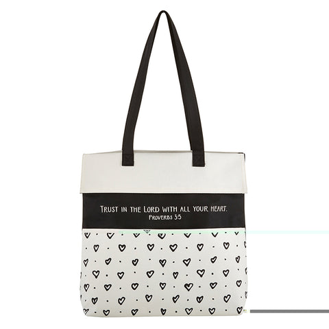 Trust - Inspirational Tote Bag With Pockets