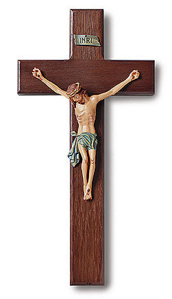 "Traditional 10"" Crucifix"