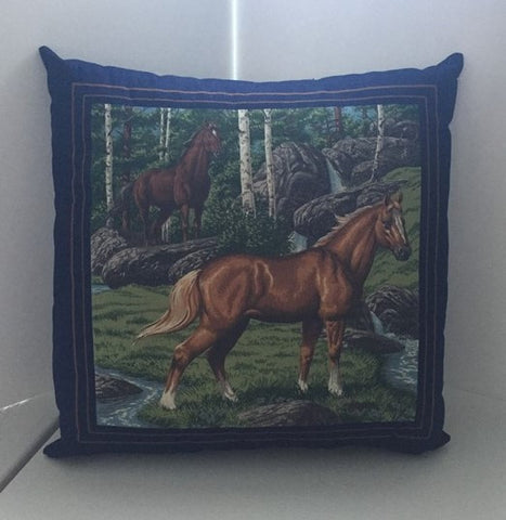 Horse Decorative throw pillow