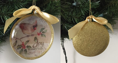 Joy in every heart ornament