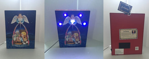 Jim Shore - Nativity Angel - Lightbox