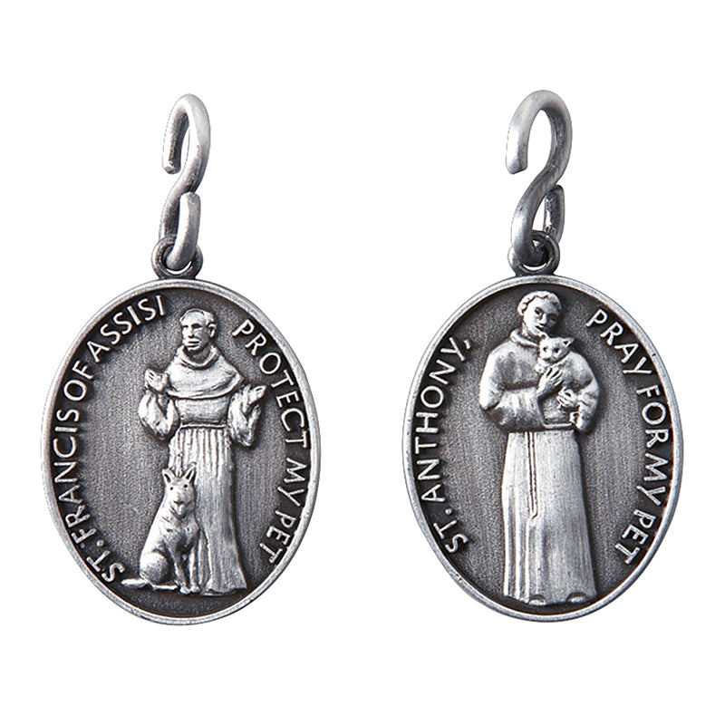 St. Francis/St. Anthony Pet Medal