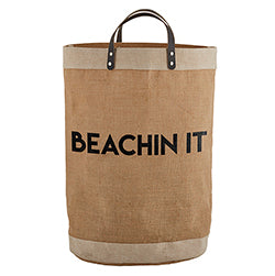 Tote LARGE - BEACHIN IT 14 x 20