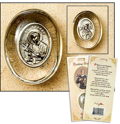 St. Gerard-Healing Saint Pocket Stone (3 pack set)