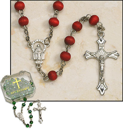 Rose Petal Scented Rosary