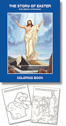 The Story of Easter coloring book (12 book set)