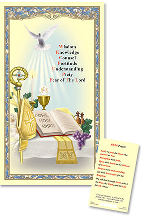 RCIA Laminated Holy Card