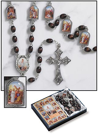 Stations Of The Cross Chaplet Set