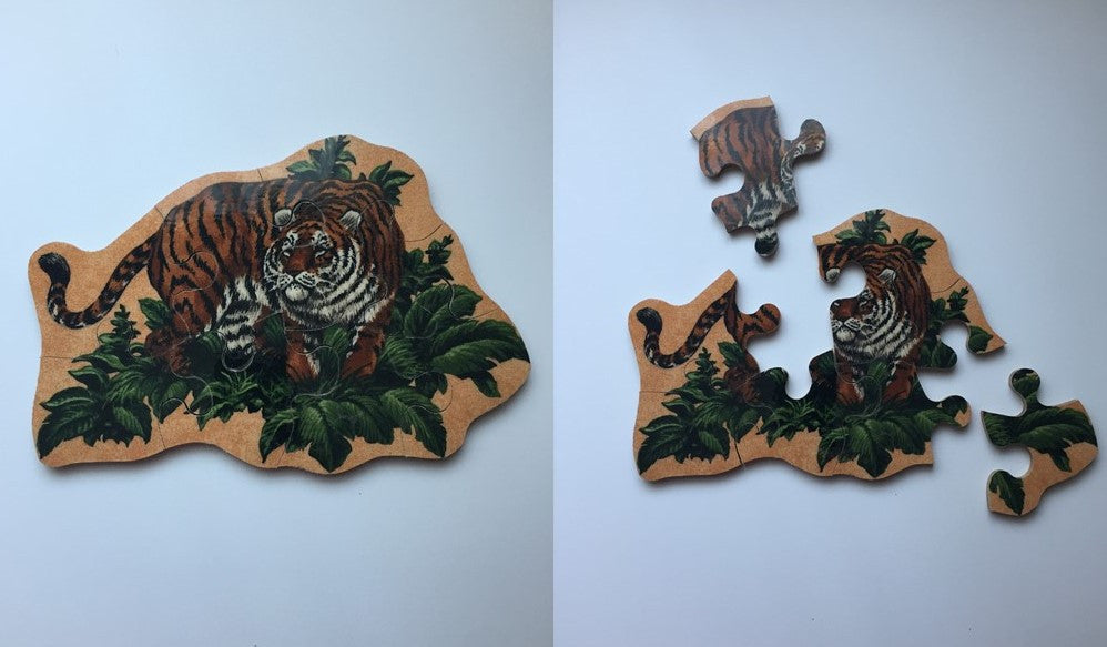 Stalking Tiger Wooden Puzzle
