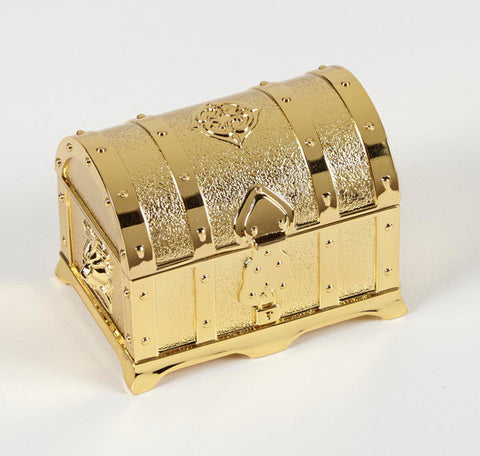 Gold Treasure Box with (13 Piece) Arras Coin Set