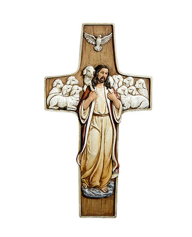 "10"" Good Shepherd Cross"