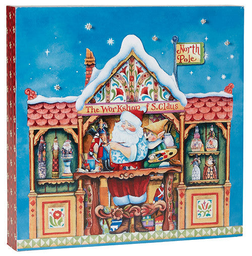 Santa's Workshop Light Box