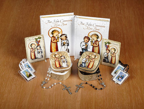 M.I. Hummel® First Communion gift sets - select boy or girl at checkout