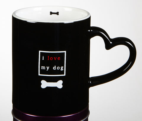 I Love My Dog 11 oz. Mug
