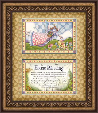 Jim Shore- House Blessing- Wall Art