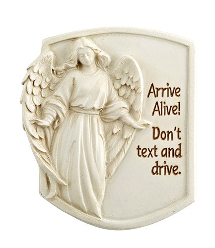 Angel Arrive Alive Visor Clip don't text and drive