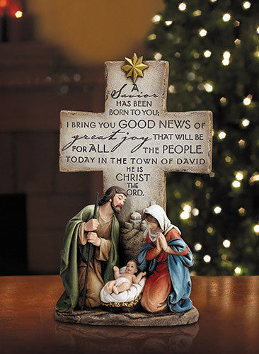 "A Savior Is Born - 12"" figurine"
