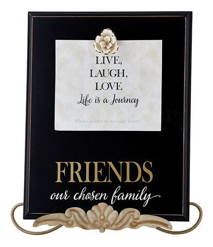 "Friends Our Chosen Family  12"" X 15"" Framed Wall Art"