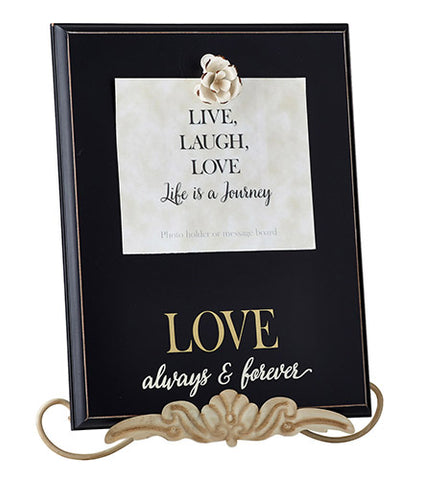 "Love  12"" X 15"" Framed Wall Art"