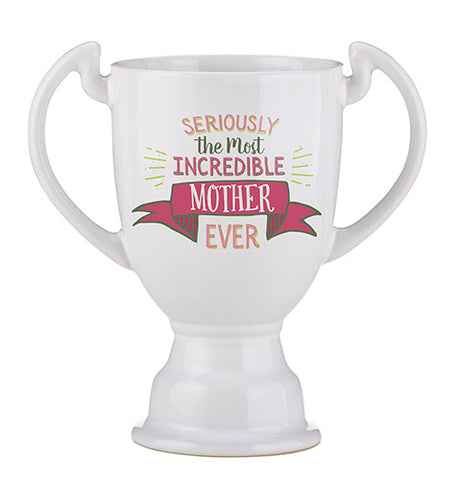Trophy Mug Most Incredible Mother 14oz Mug