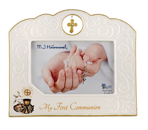 Hummel First Communion photo frame