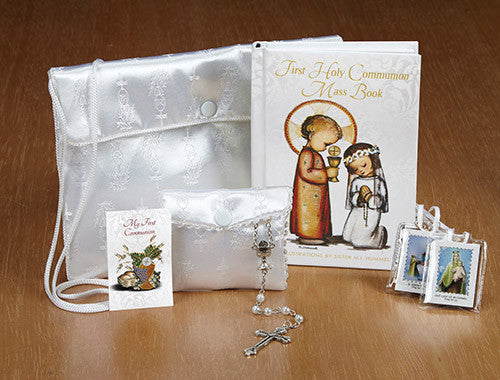 M.I. Hummel First Communion Satin Purse Set - Girl