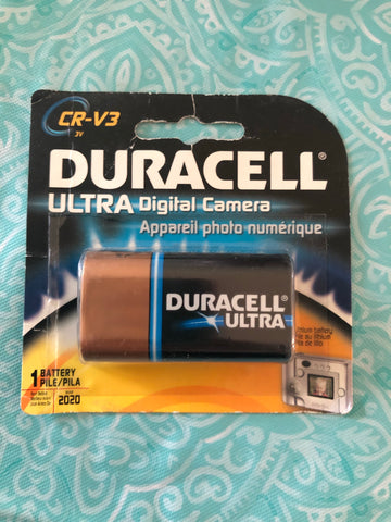 Duracell Cr-V3 Battery