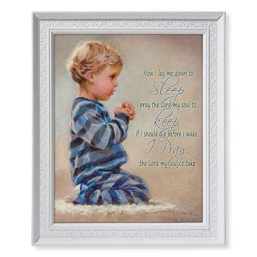 Dear Jesus-Boy framed print