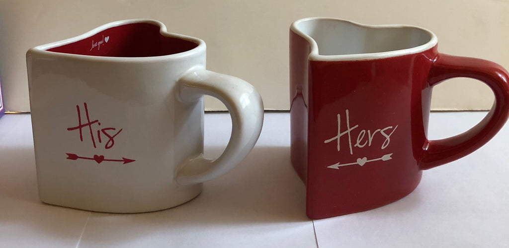 His & Hers Mug Set 8 oz. mug set