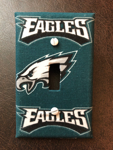 Eagles Football wall light switch plate cover