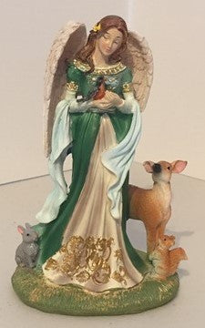 Woodland Angel figurine by Michael Adams