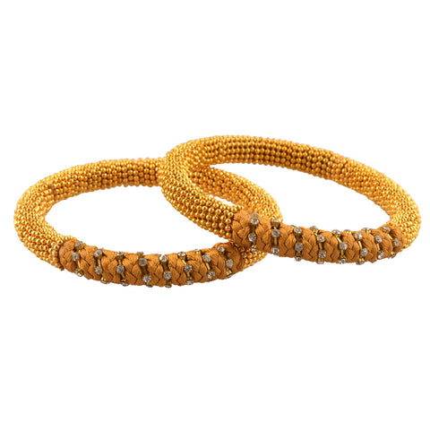 Zephyrr Fashion Traditional Beaded Bangles with Zircons