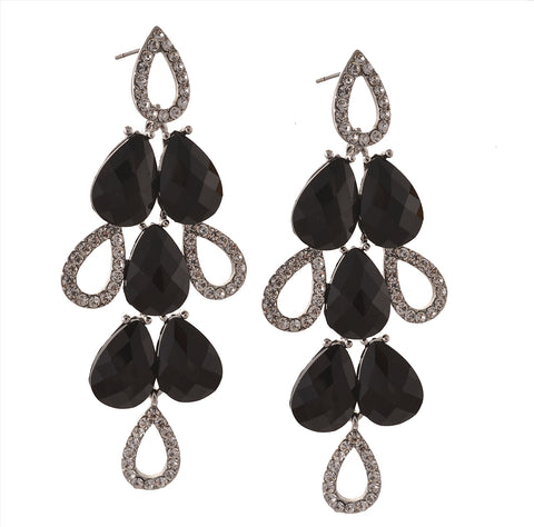 Fashion Hanging Dangle And Drop Pierced Earrings For Women With Zircons