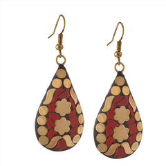 Fashion Handmade Lightweight Tibetan Hook  Dangler Earrings For Women - StompMarket