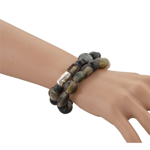 Ornamenta Fashion Beaded Hand Bracelet Free size Stretchable - StompMarket