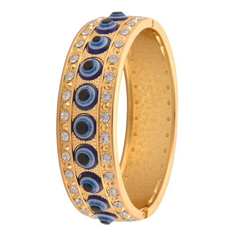 Fashion Bracelet For Girls With Zircons Evil Eye Adjustable Free Size - StompMarket