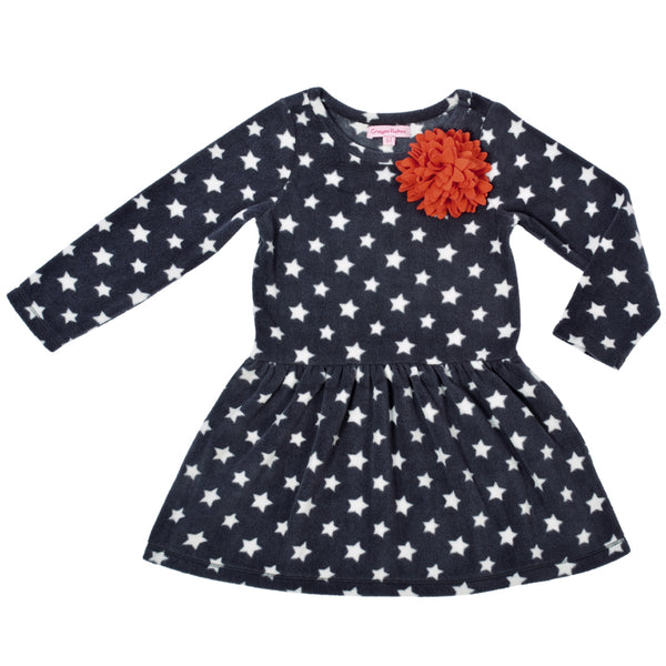 Kids Wear Girls Soft Micropile 100% Polyester Polar Fleece Frock