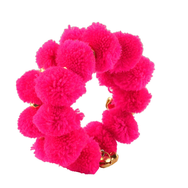 Fashion Beaded Spiral Hand Bracelet Bangle Free size for Kids Girls