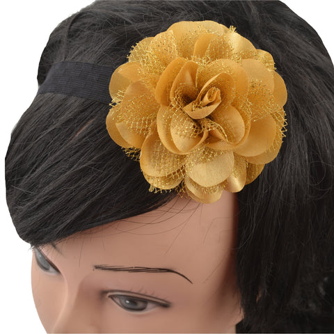 Kids Girls Flower Stretchable Soft Elastic Lace Headband/Hair Band - StompMarket