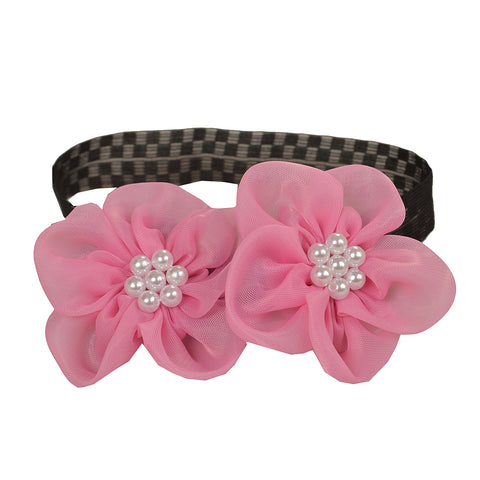 Kids Girls Flower Soft Stretchable Lace Head Band/Hair Band