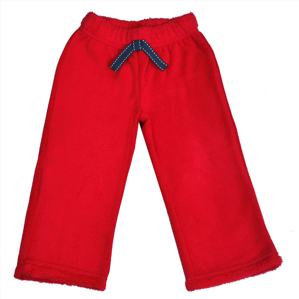 Kids Wear For Girls Solid Color Fleece Soft Leggings With Bow