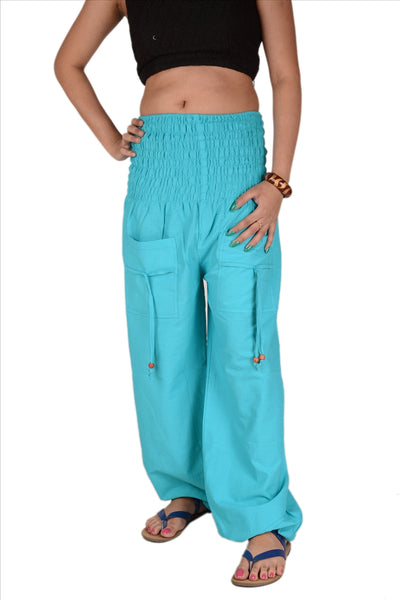 Women's Cotton Lounge / Yoga Pants With Pockets
